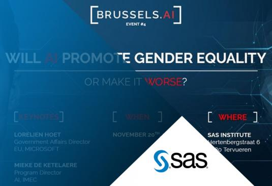Conférence Brussels.ai -  Will AI promote gender equality
